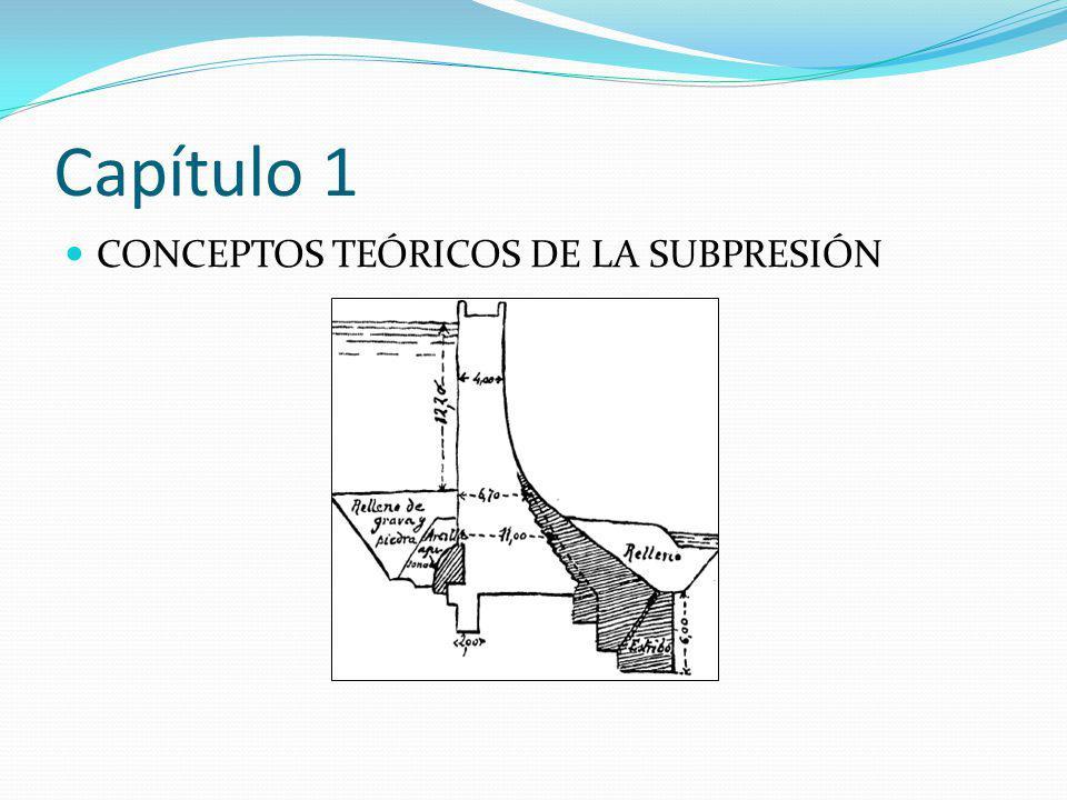 Capítulo 1 CONCEPTOS TEÓRICOS DE LA SUBPRESIÓN