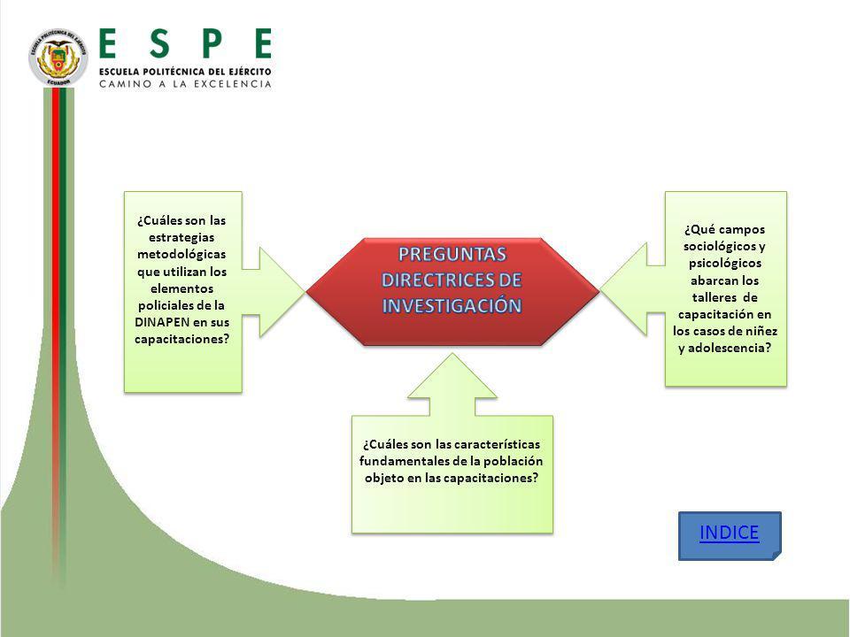 PREGUNTAS DIRECTRICES DE INVESTIGACIÓN