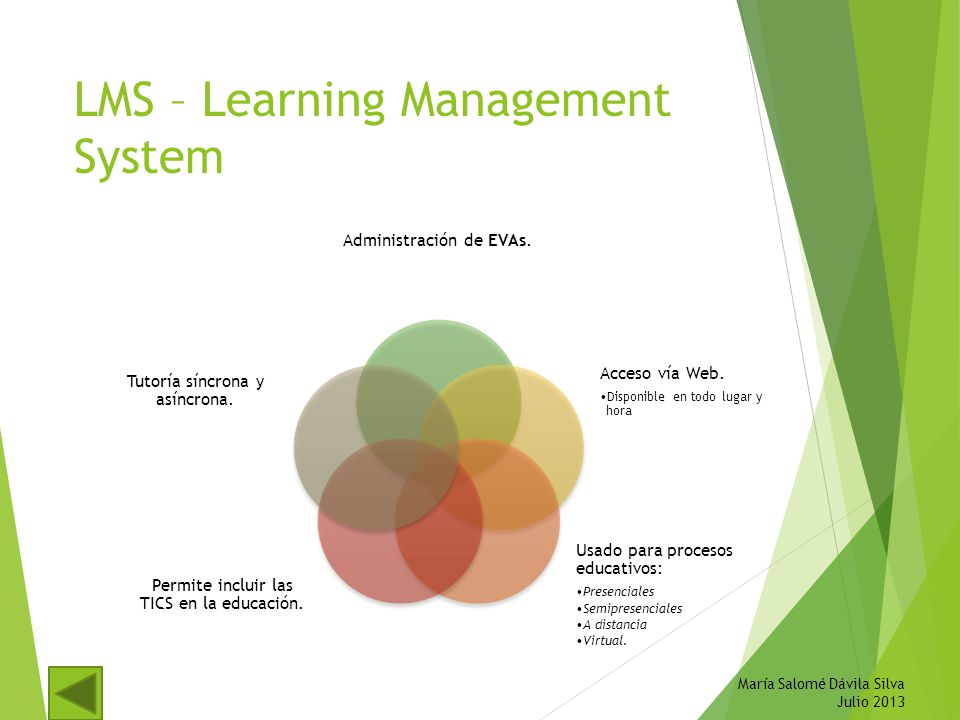 LMS – Learning Management System