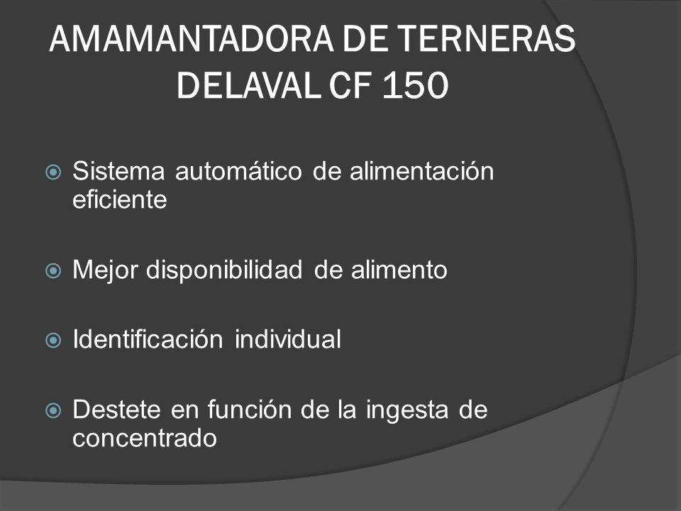 AMAMANTADORA DE TERNERAS DELAVAL CF 150