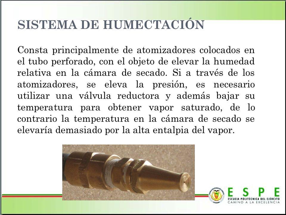SISTEMA DE HUMECTACIÓN