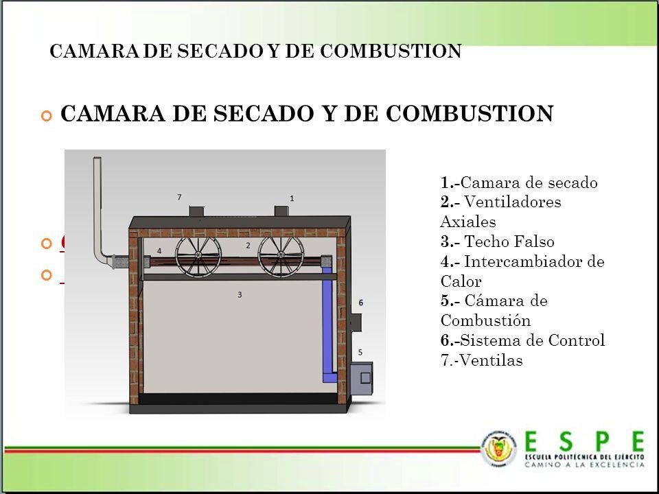 CAMARA DE SECADO Y DE COMBUSTION