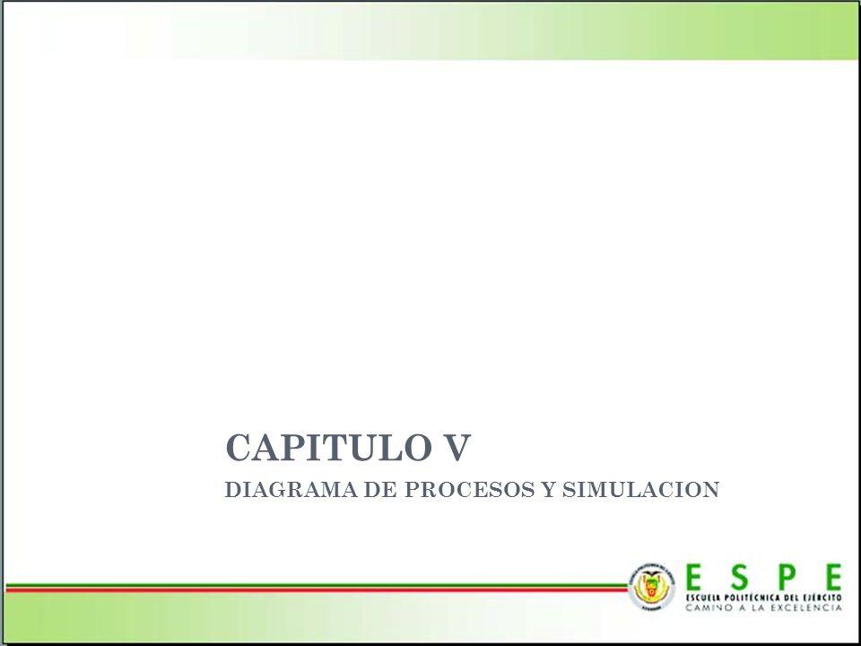 DIAGRAMA DE PROCESOS Y SIMULACION