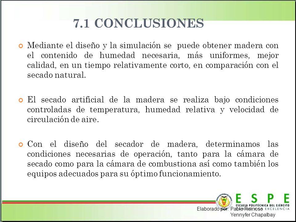 7.1 CONCLUSIONES