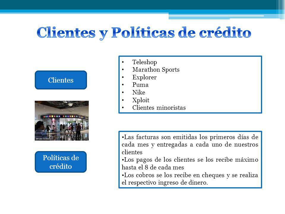 Clientes y Políticas de crédito