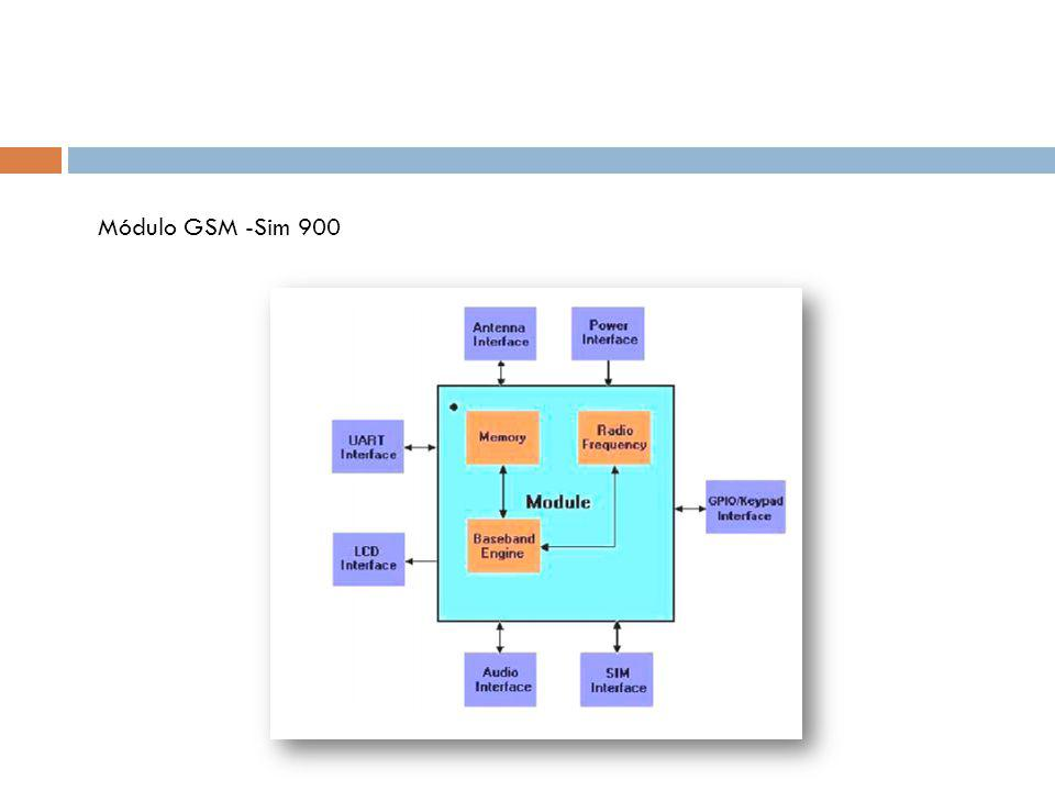 Módulo GSM -Sim 900