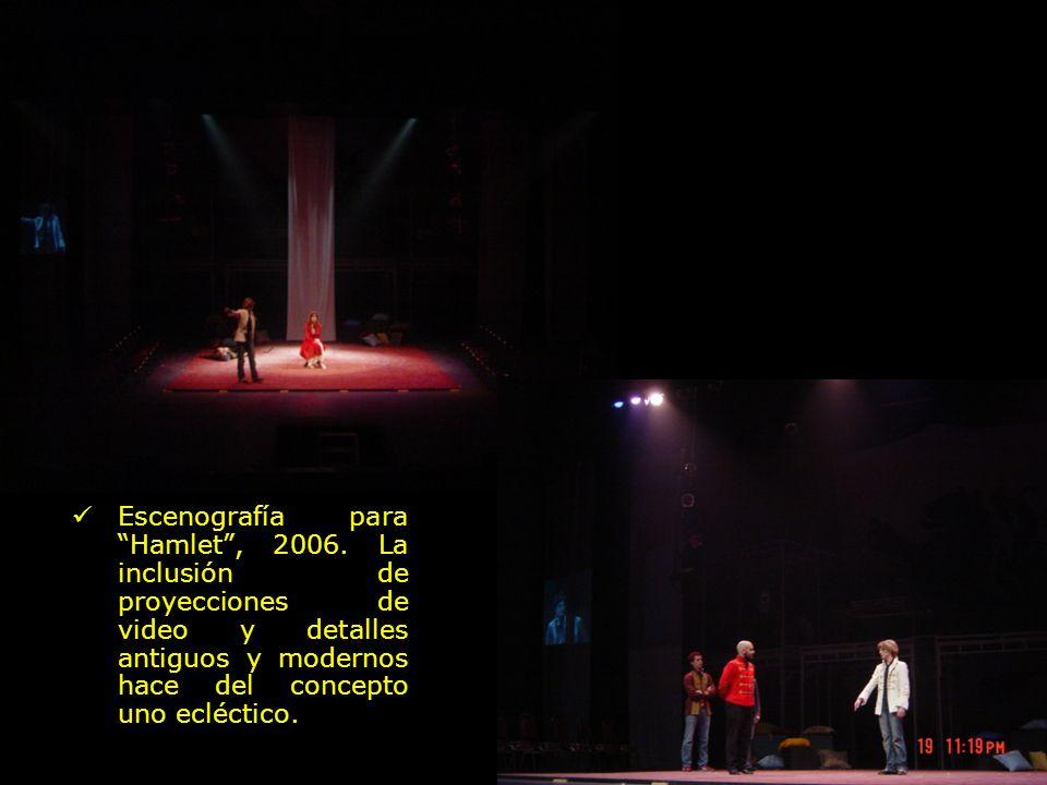 Escenografía para Hamlet , 2006
