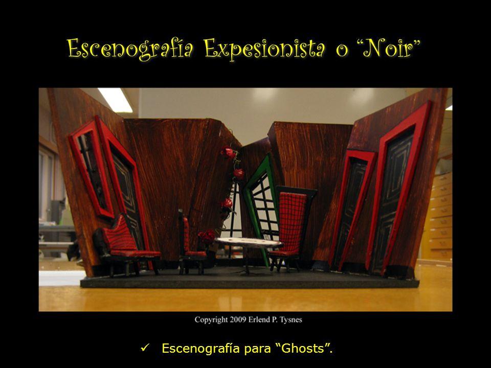 Escenografía Expesionista o Noir