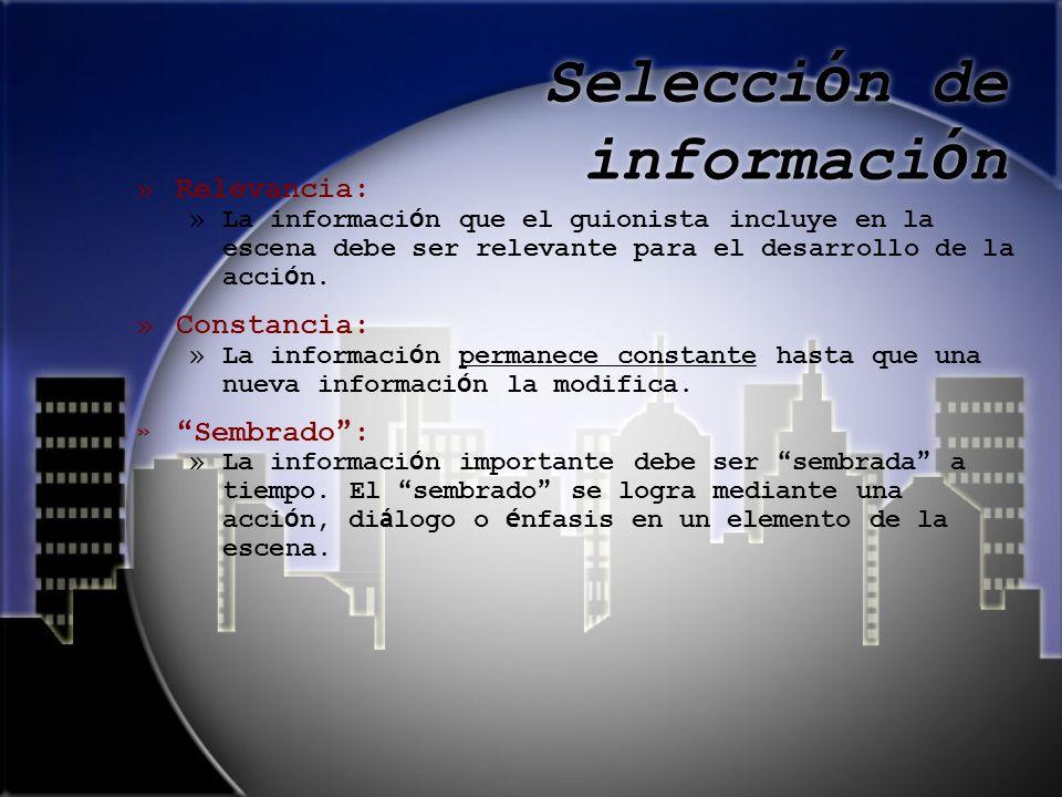Selección de información