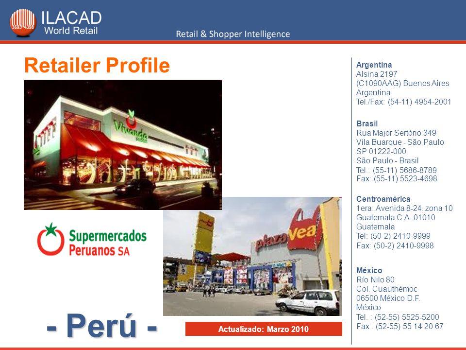- Perú - Retailer Profile Argentina