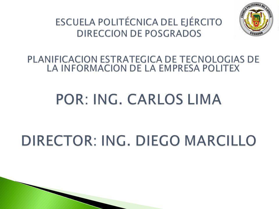 ESCUELA POLITÉCNICA DEL EJÉRCITO DIRECCION DE POSGRADOS