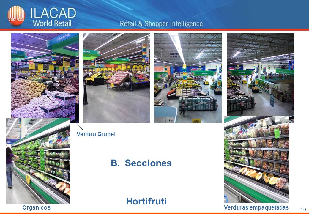 Venta a Granel Secciones Hortifruti Organicos Verduras empaquetadas