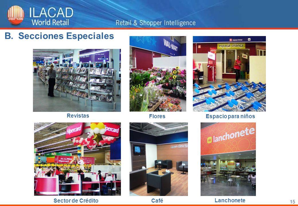 Secciones Especiales Revistas Flores Espacio para niños