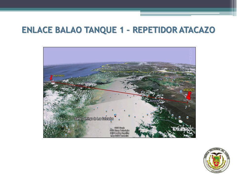 ENLACE BALAO TANQUE 1 – REPETIDOR ATACAZO