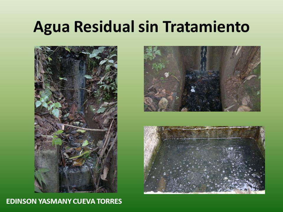 Agua Residual sin Tratamiento