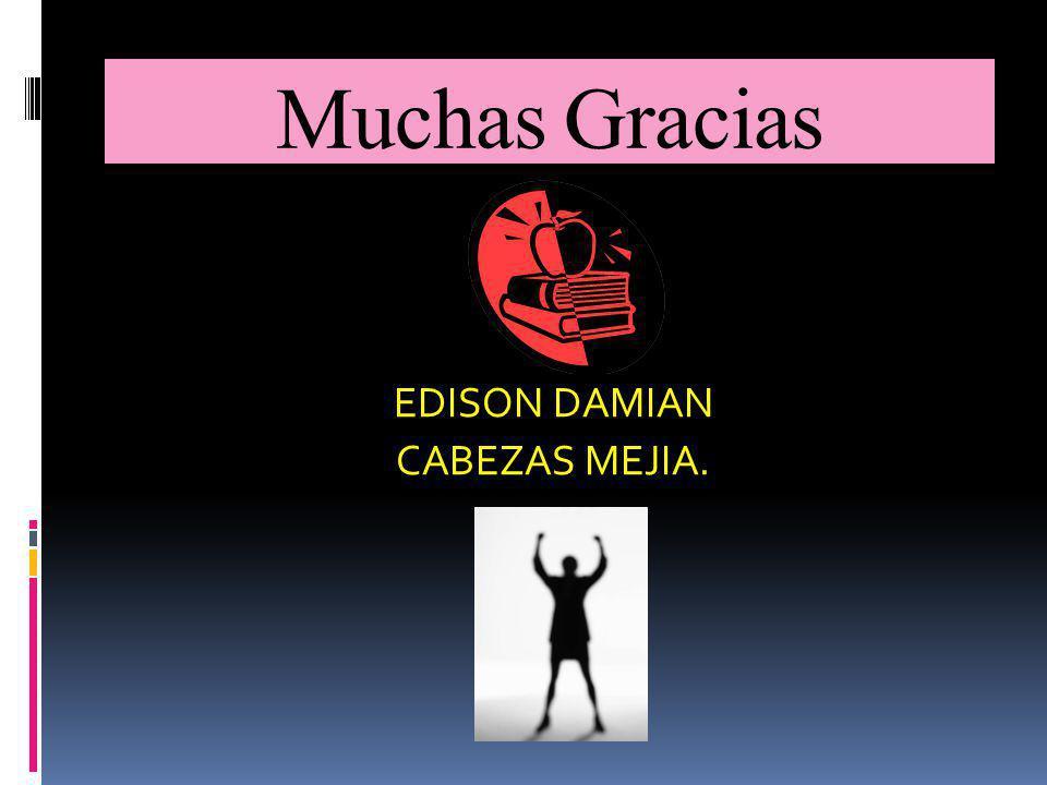EDISON DAMIAN CABEZAS MEJIA.