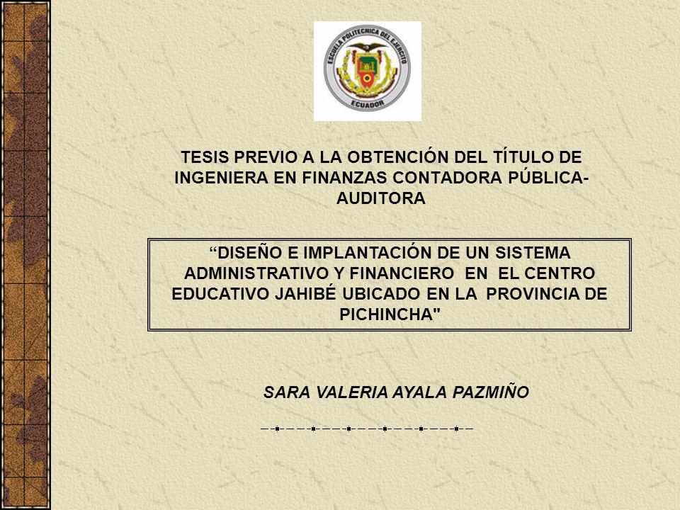 SARA VALERIA AYALA PAZMIÑO