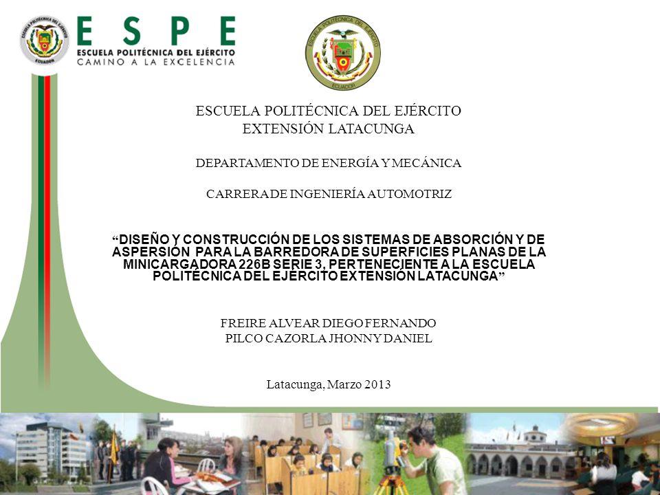 ESCUELA POLITÉCNICA DEL EJÉRCITO EXTENSIÓN LATACUNGA