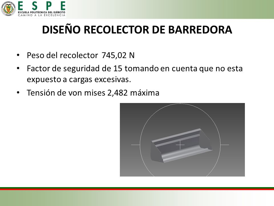 DISEÑO RECOLECTOR DE BARREDORA