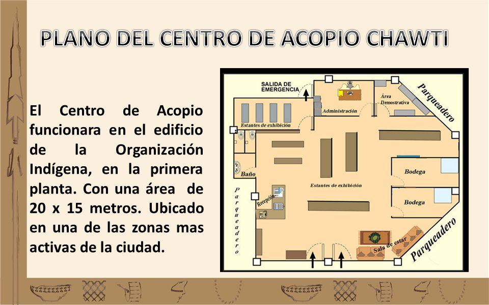 PLANO DEL CENTRO DE ACOPIO CHAWTI