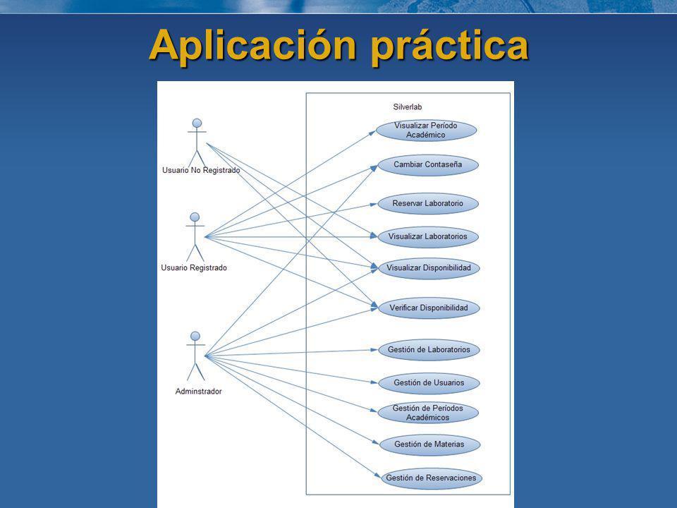 Aplicación práctica