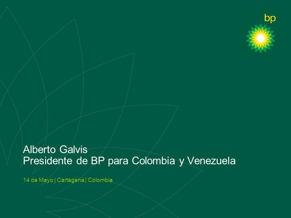 Alberto Galvis Presidente de BP para Colombia y Venezuela