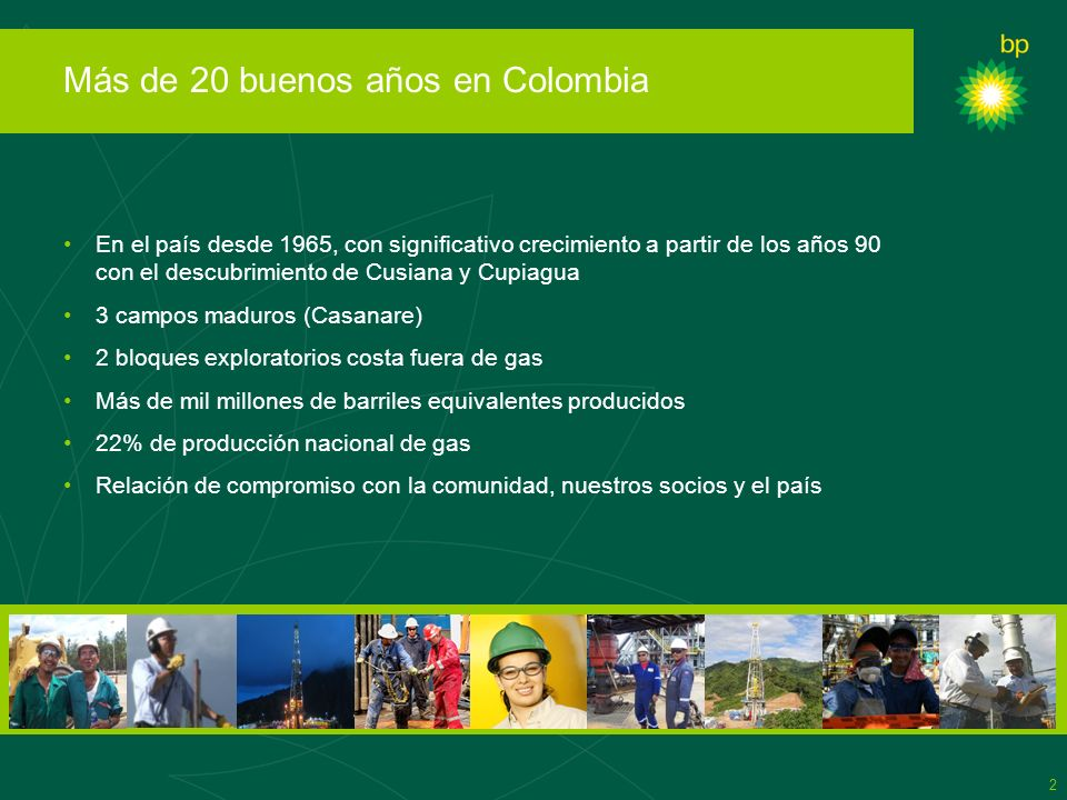 Más de 20 buenos años en Colombia