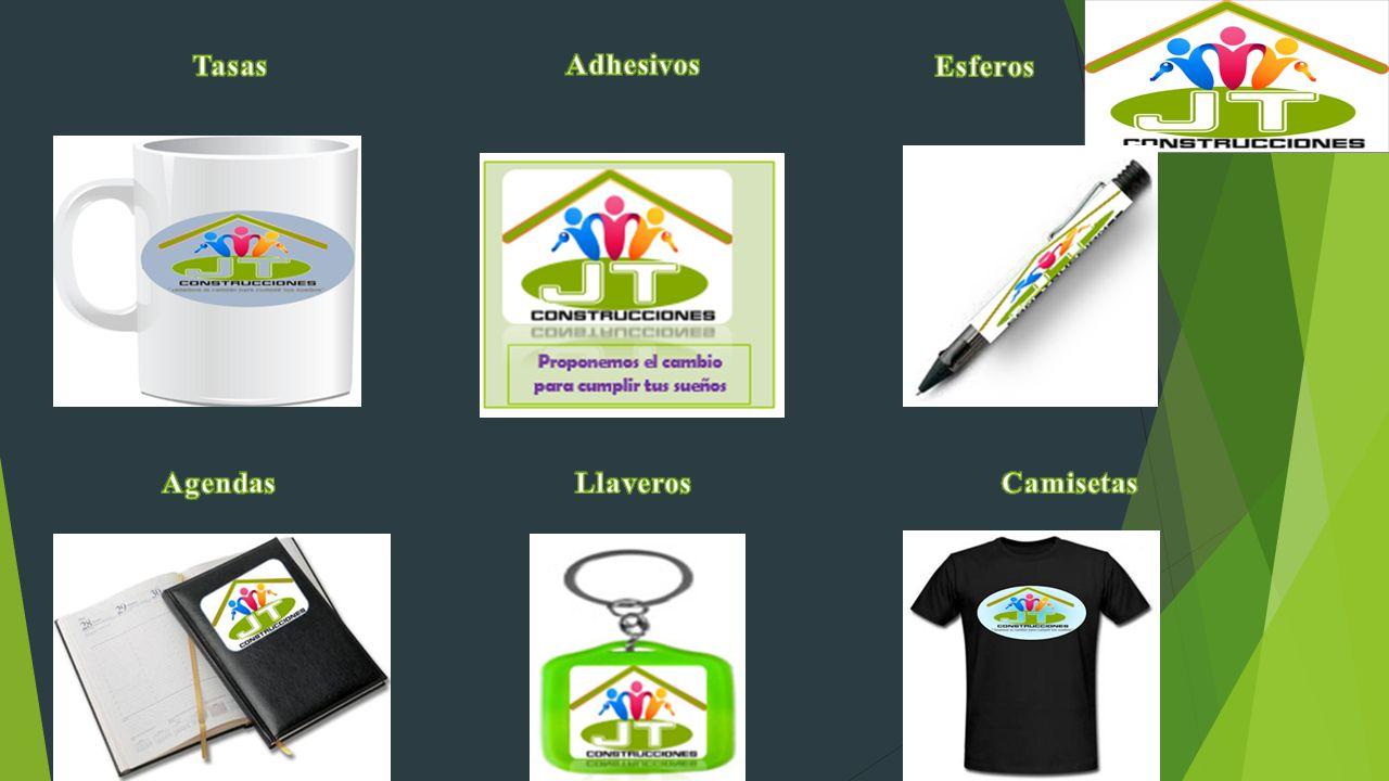 Tasas Adhesivos Esferos Agendas Llaveros Camisetas