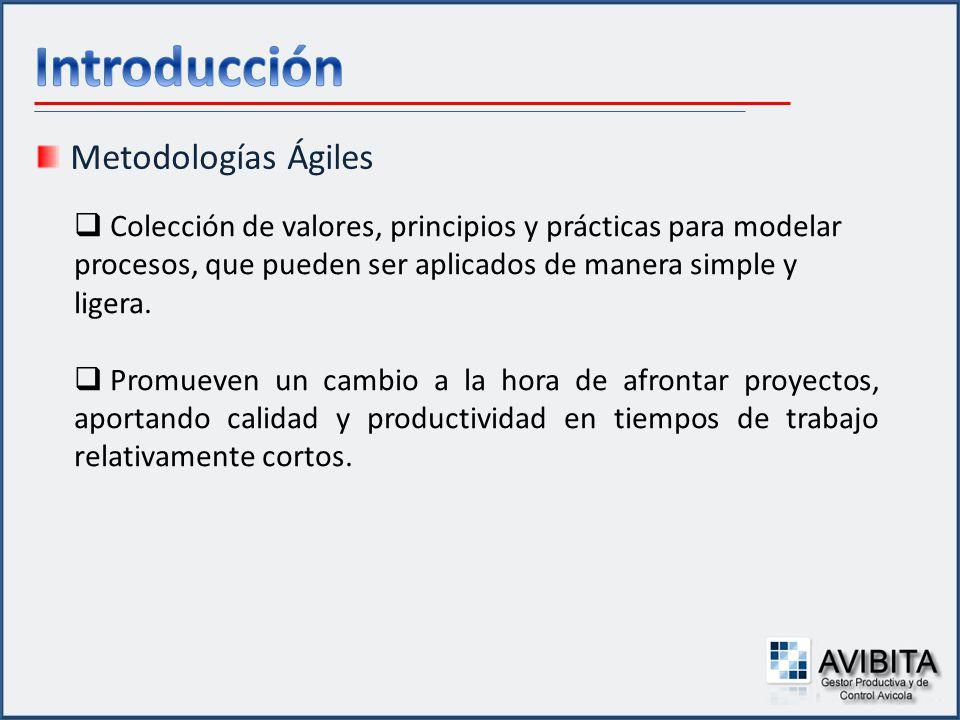 Introducción Metodologías Ágiles