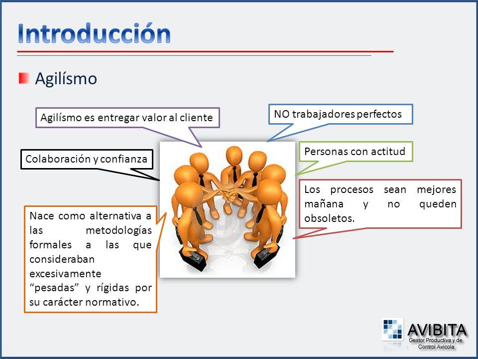 Introducción Agilísmo NO trabajadores perfectos