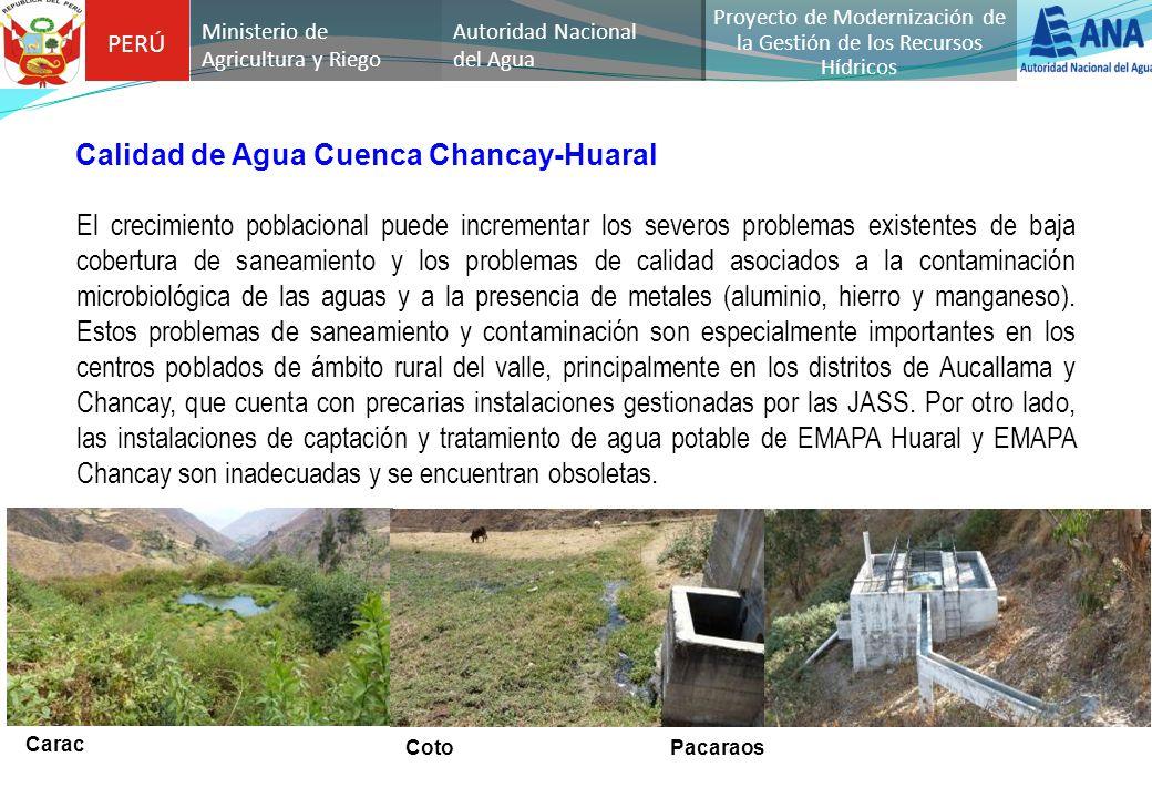 Proyecto de Modernización de la Gestión de los Recursos Hídricos