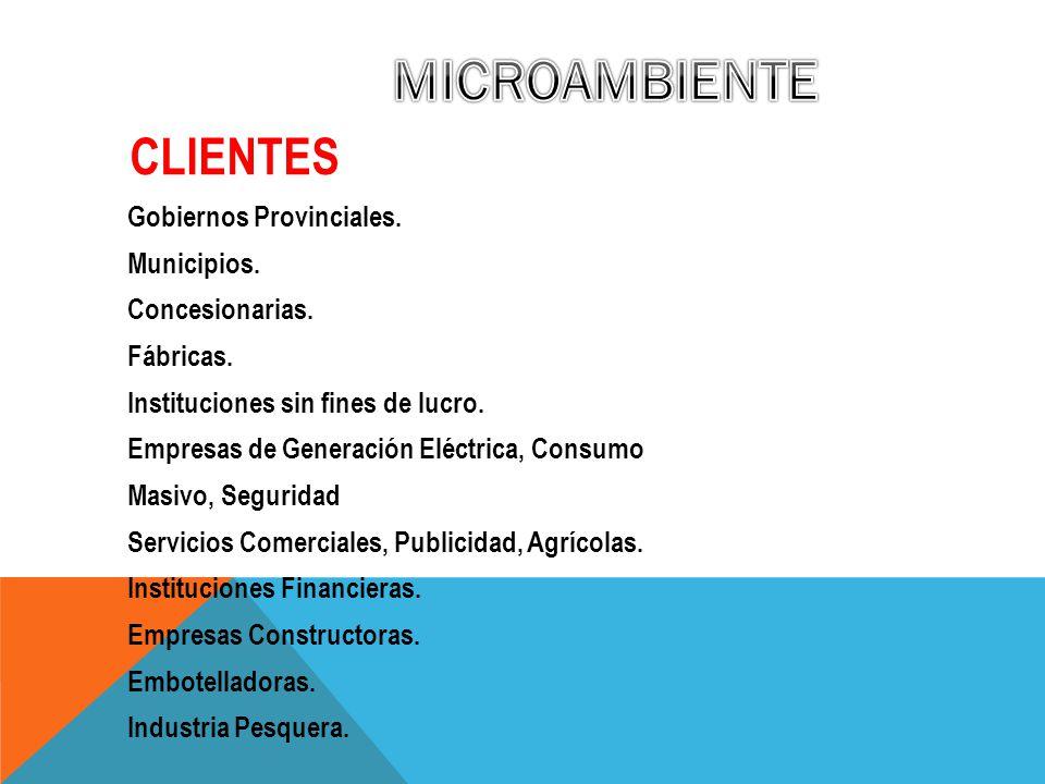 MICROAMBIENTE CLIENTES