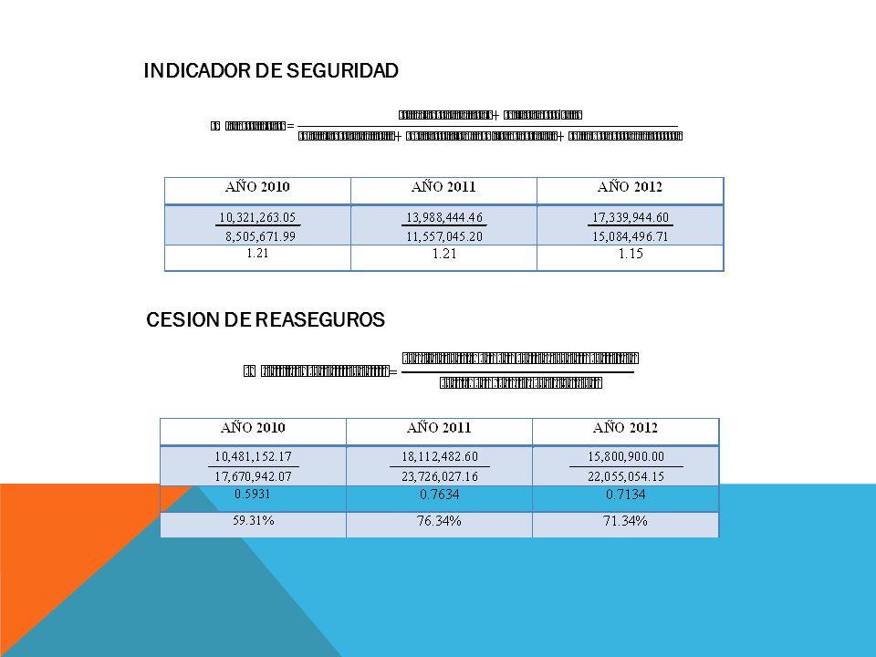 INDICADOR DE SEGURIDAD
