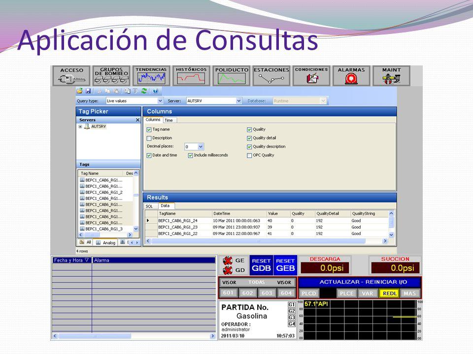 Aplicación de Consultas