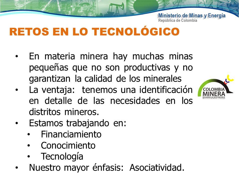 RETOS EN LO TECNOLÓGICO