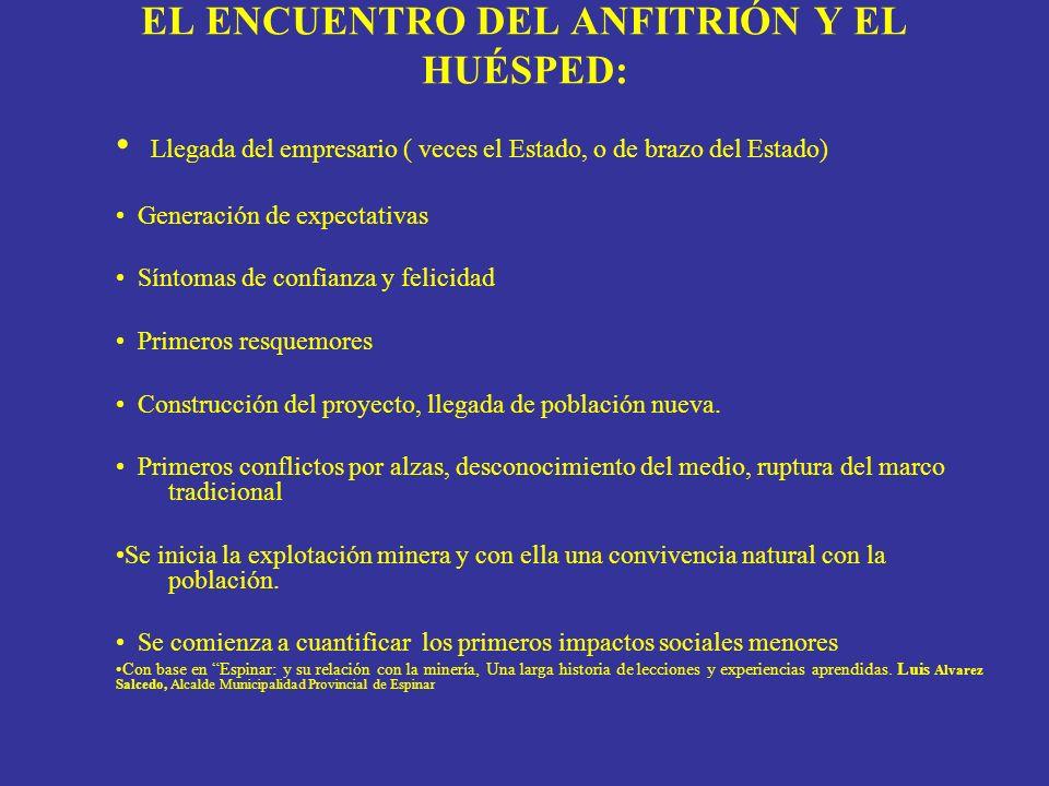 EL ENCUENTRO DEL ANFITRIÓN Y EL HUÉSPED: