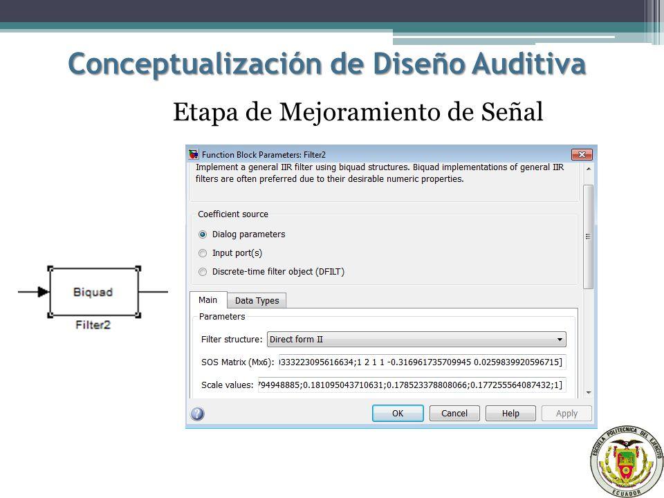 Conceptualización de Diseño Auditiva