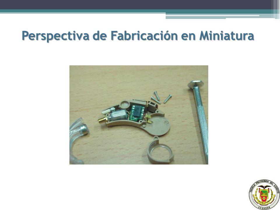 Perspectiva de Fabricación en Miniatura