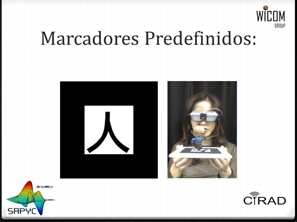 Marcadores Predefinidos: