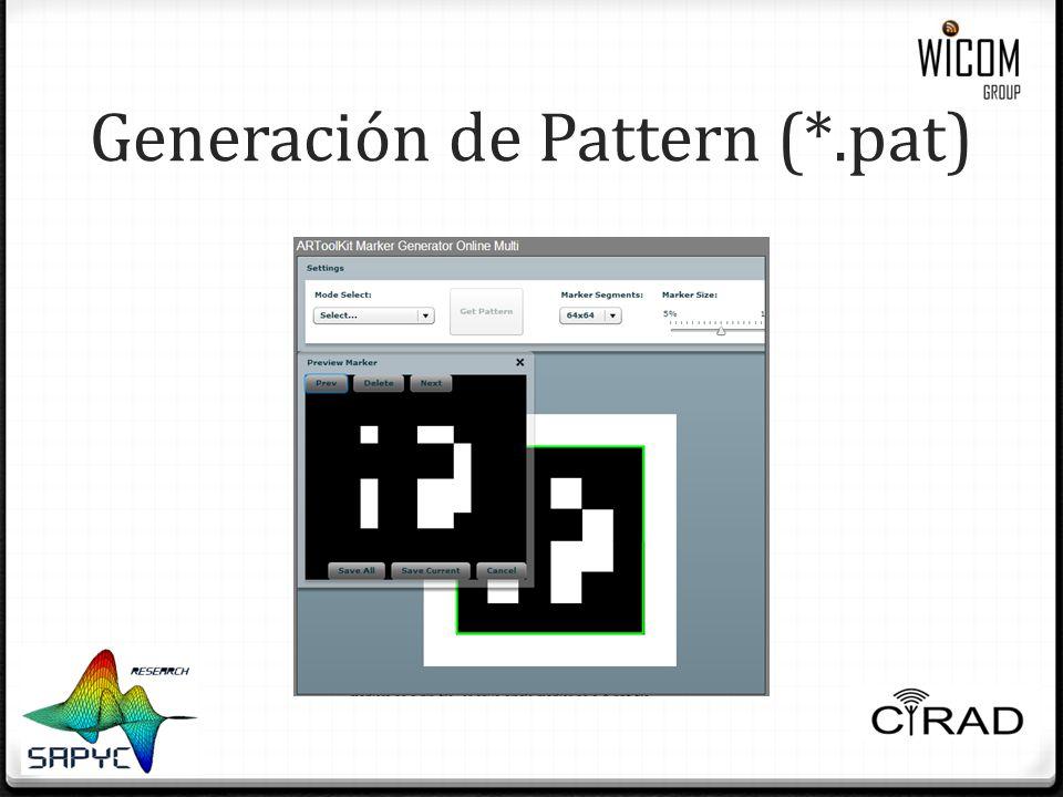 Generación de Pattern (*.pat)