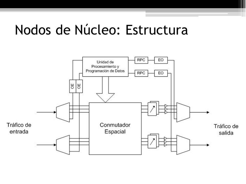 Nodos de Núcleo: Estructura