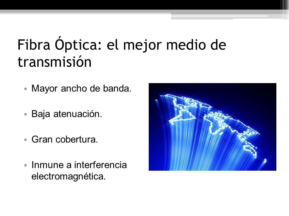 Fibra Óptica: el mejor medio de transmisión