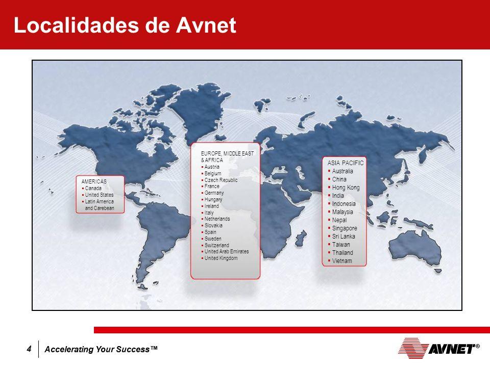 Localidades de Avnet ASIA PACIFIC Australia China Hong Kong India