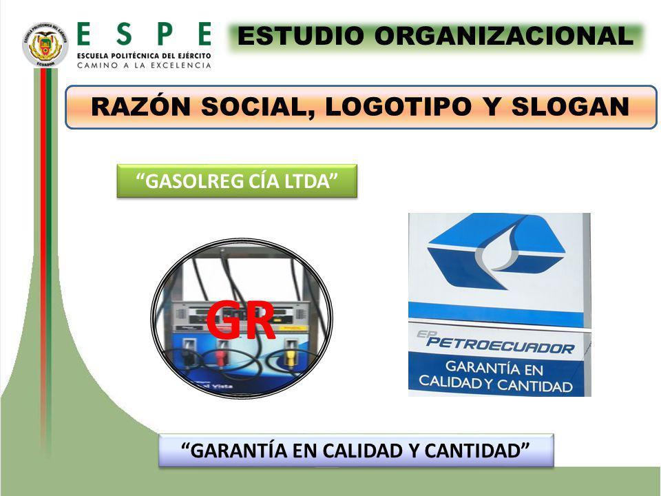 ESTUDIO ORGANIZACIONAL GARANTÍA EN CALIDAD Y CANTIDAD
