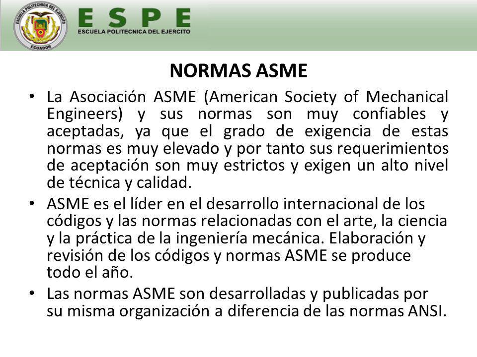 NORMAS ASME