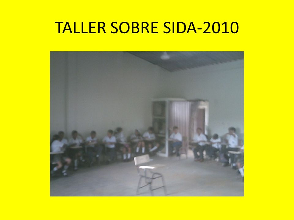 TALLER SOBRE SIDA-2010