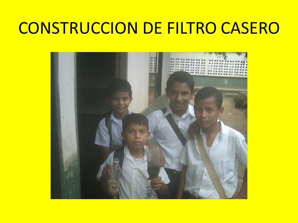 CONSTRUCCION DE FILTRO CASERO