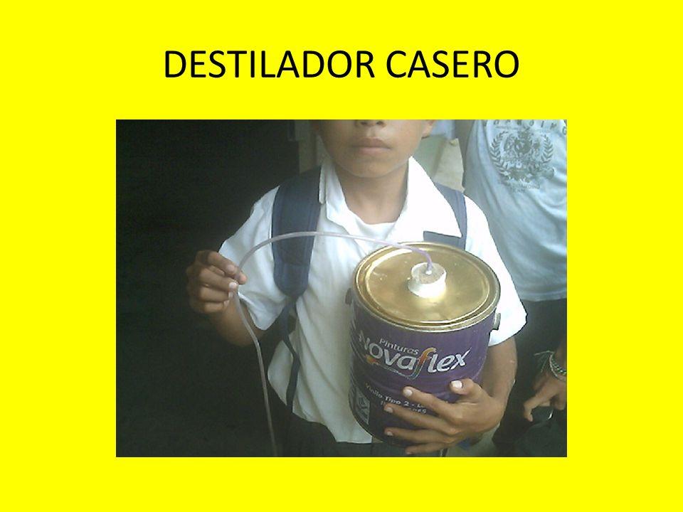 DESTILADOR CASERO