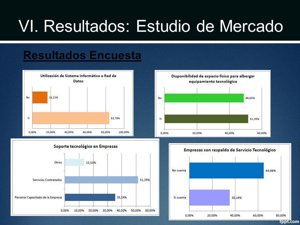 VI. Resultados: Estudio de Mercado