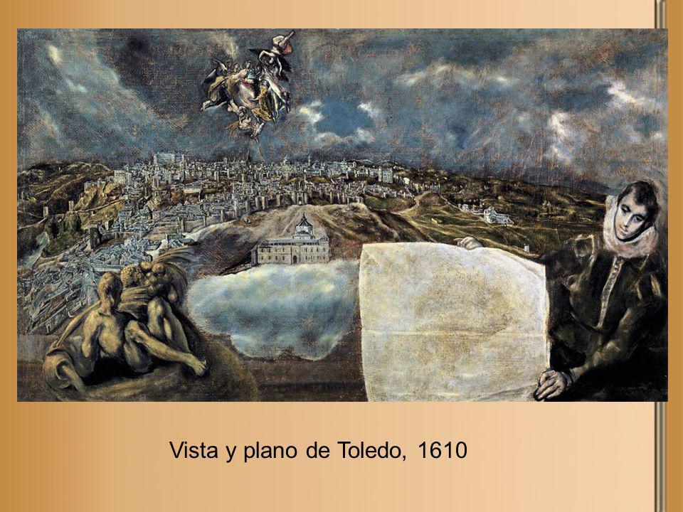 Vista y plano de Toledo, 1610